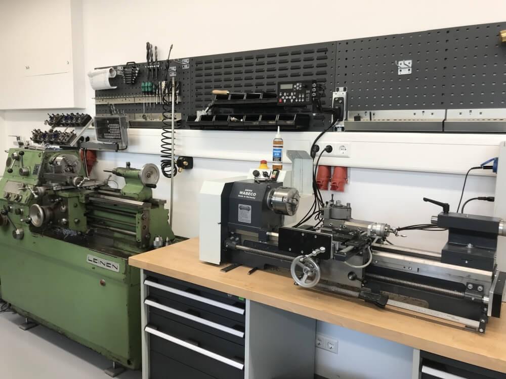 Leinen DLZ140 und Wabeco D6000 Drehmaschinen