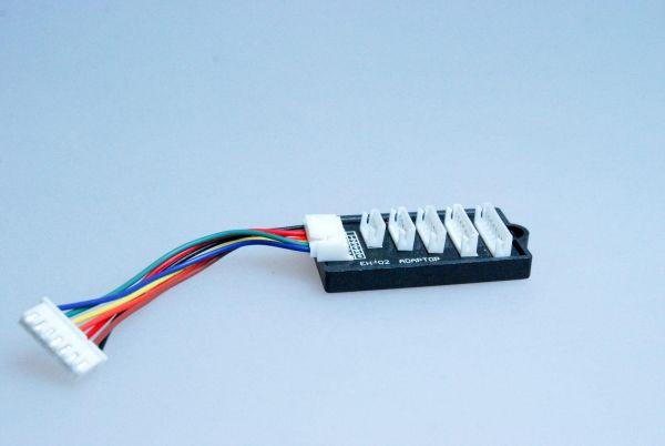 Balancer Adapter von EH auf JST-XH für 2S-6S LiPo Graupner Robbe Kokam