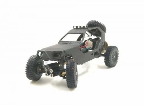 DAS87 DS87A03 4WD Trial Buggy Crawler aus Messing für 1:87