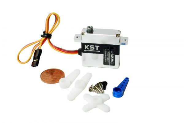KST DS145MG Digital Metall Servo 5,2kg 0,12sec 23g 10mm Flächenservo