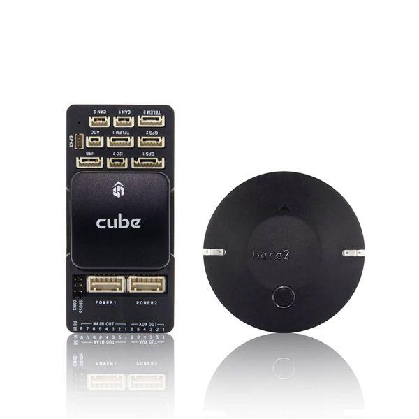 Pixhawk 2.1 - The Cube Black & Here 2 GPS Combo Set