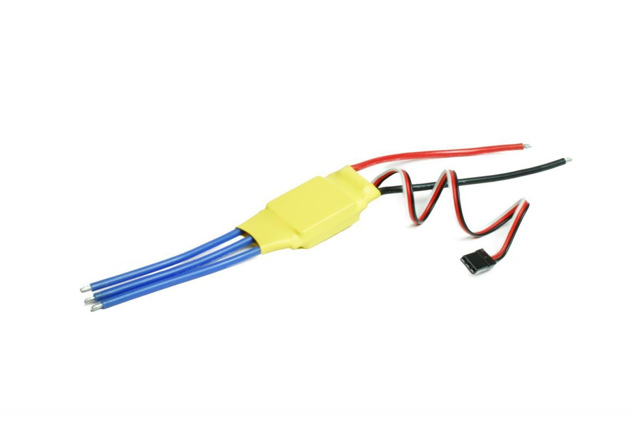 Brushless Regler 25A 2-4S (16,8V) 2A BEC programmierbar Turnigy H-Wing