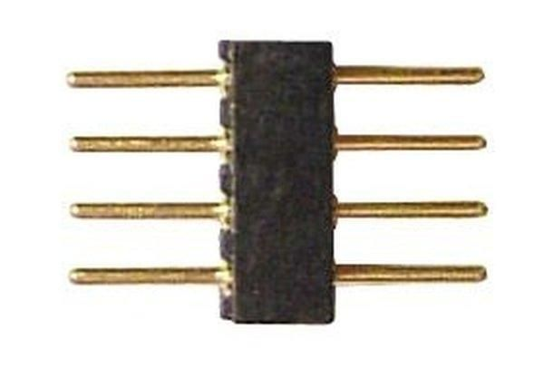 Steckerleiste 4 polig Rasterabstand 1,27mm ST4 2er Set