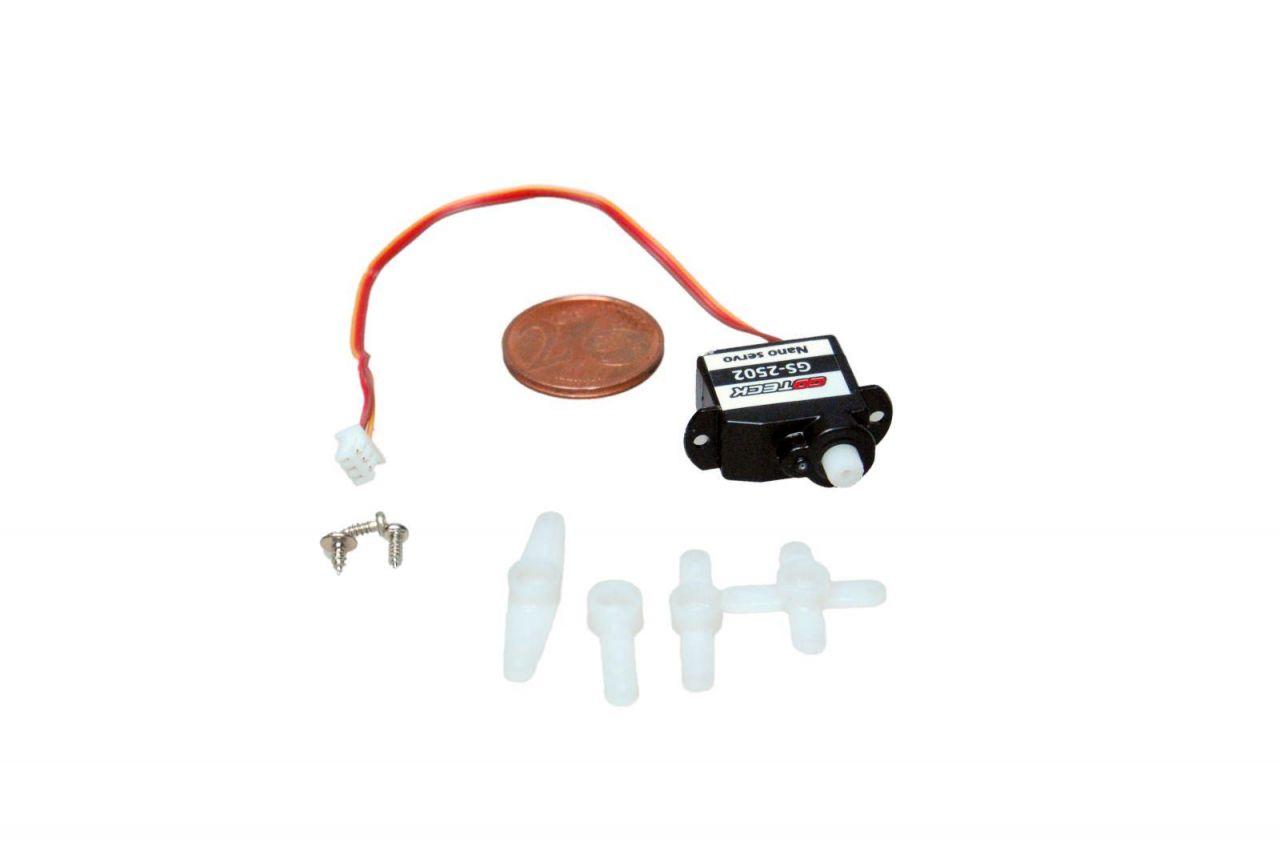 2,2g Ultra Micro Servo 0,2kg/cm 0,09sec GS-2502 für Indoor Modelle