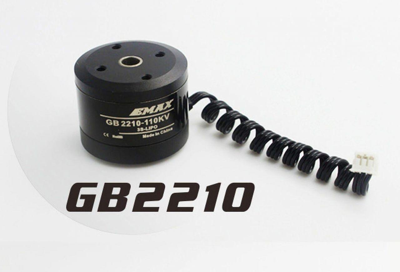Emax Brushless Gimbal Motor Hohlwelle GB2210 V2 47g für 100-200g Kameras GoPro