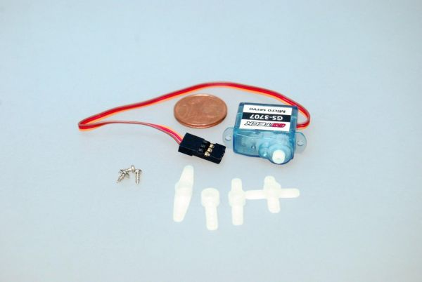 3,7g Micro Servo 0,7kg/cm 0,1sec GS-3707 für Indoor und Parkflyer