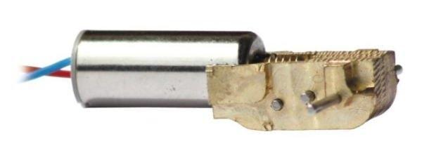 Mikro-Getriebe aus Messing G90M mit M705 Motor 1:90