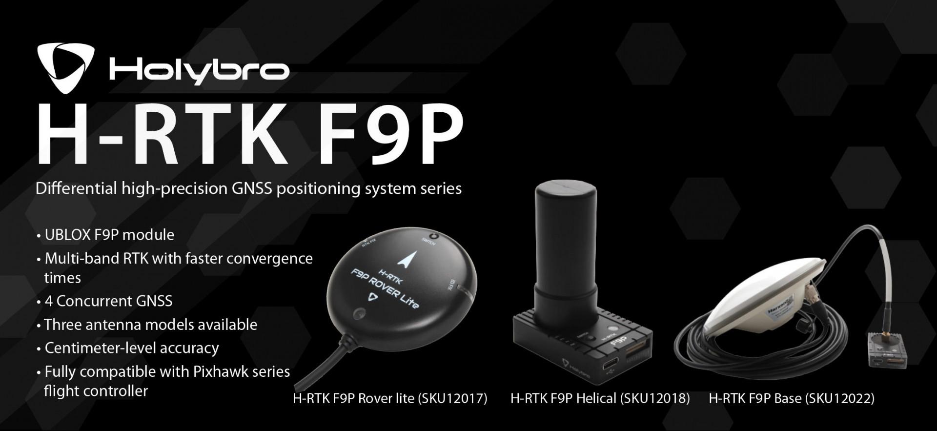 Holybro F9P GPS Module