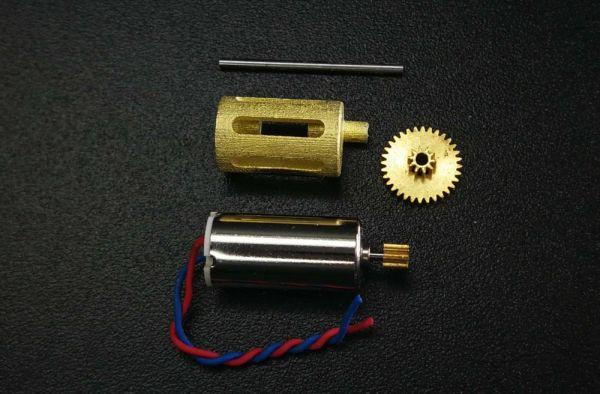 Mikrogetriebe DIY aus Messing für 1:87 RC Modelle