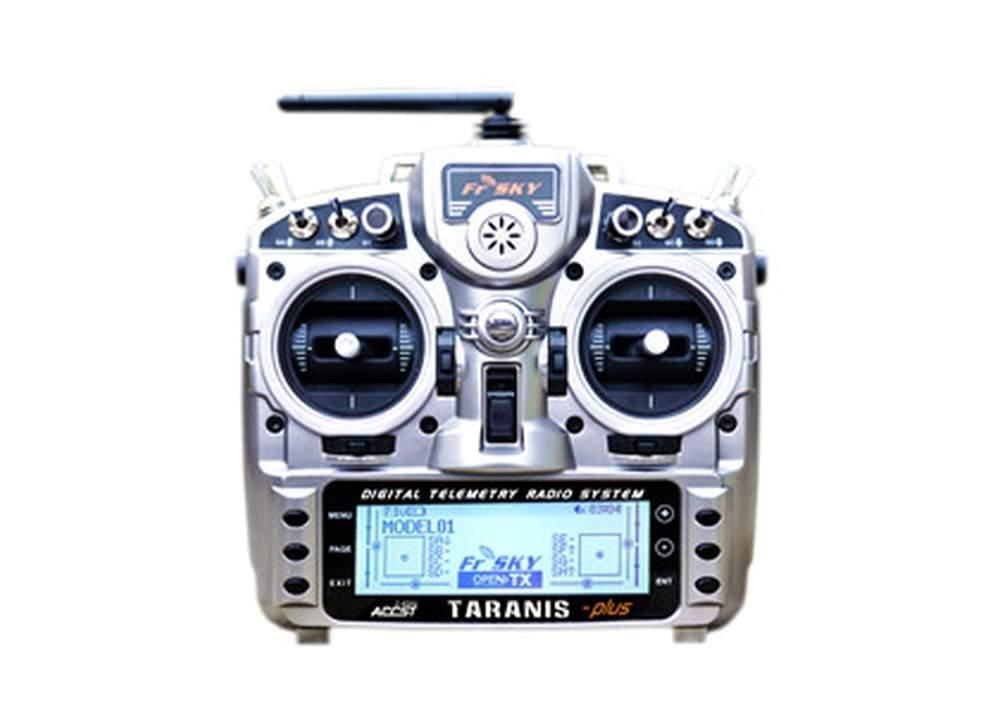 FrSky Taranis X9D Plus inkl. X8R Empfänger + Alukoffer 2,4 GHz ACCST