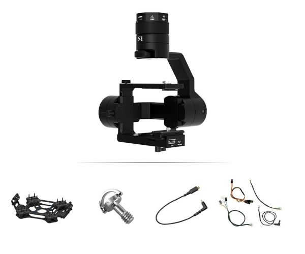 Gremsy S1 V3 Gimbal Bundle - Workswell Wiris Pro