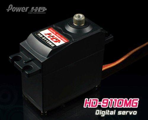 PowerHD HD-9110MG Digital Metallgetriebe Servo 49g 10,5kg 0,19sec 4,8V-6V