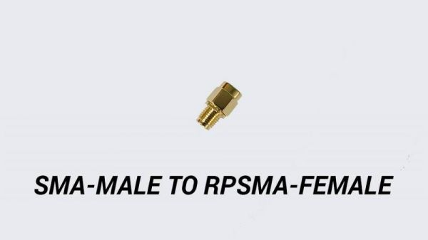 TBS SMA Male auf RPSMA Female Adapter für 5,8 Ghz FPV Antennen