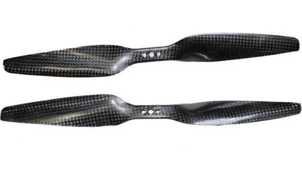 12x5.5 Propeller Carbon Fiber 1255 1x CCW 1x CW CFK T-Motor Tiger MN Navigator