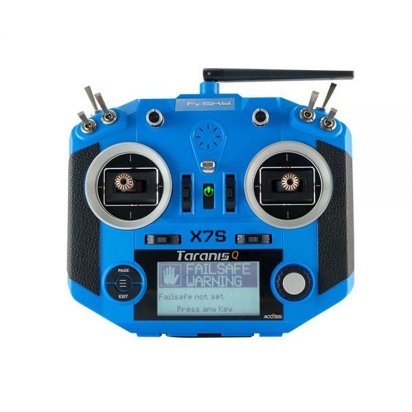 FrSky Taranis Q X7S Sender 2,4 GHz Fernsteuerung Blau ACCESS