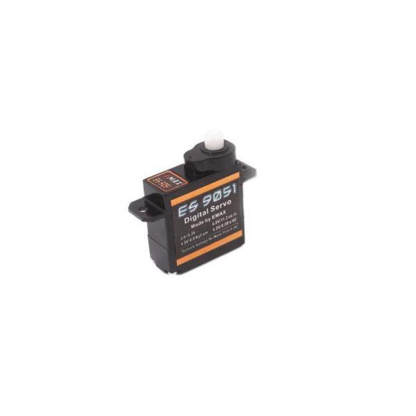Emax ES9051 Digital Ultra Micro Servo 4,3g 0.8kg 0,109sec 4,0V-5,5V