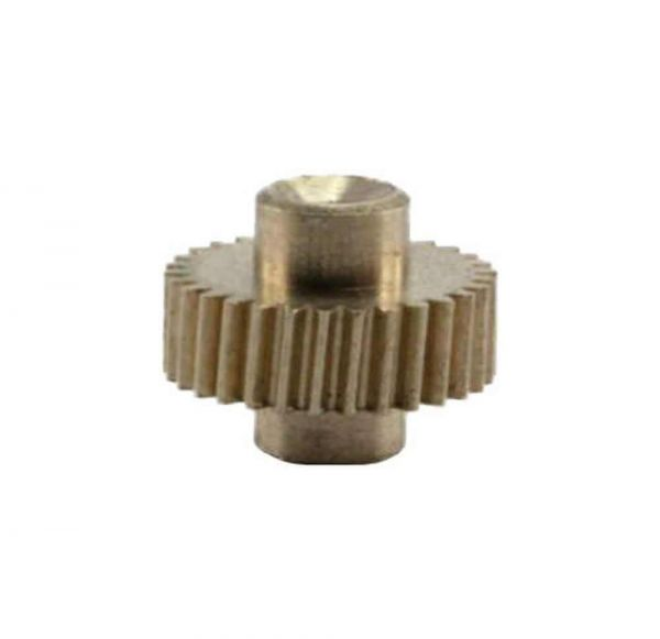 Zahnrad 30 Zähne Modul 0.2 1mm Bohrung Messing schrägverzahnt M0.2 Z302SF