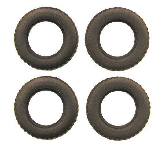 Gummibereifung für 1:87 LKW Gummireifen H0 R4