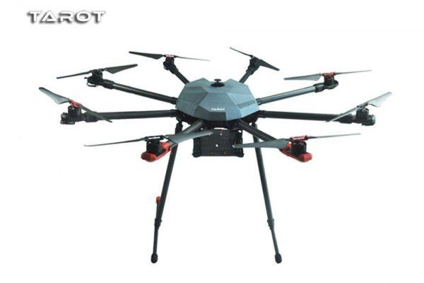 Tarot X8 Pro Carbon Ocotopter Rahmen - elek. Landegestell TL8X000-PRO