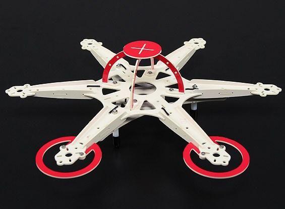 Turnigy Micro Hexacopter Rahmen 25cm integrierte Verteilerplatine