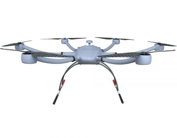 T-Motor M1500 Carbon Hexacopter Rahmen mit Antriebsset 5kg Nutzlast