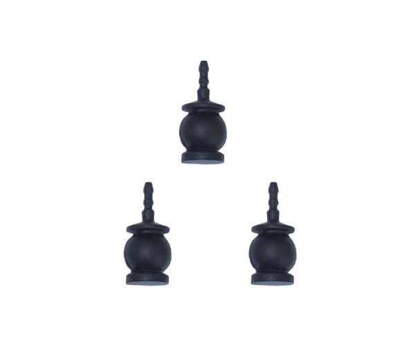 Gremsy Black Silicon Rubber Set - Dämpfer als Ersatzteil