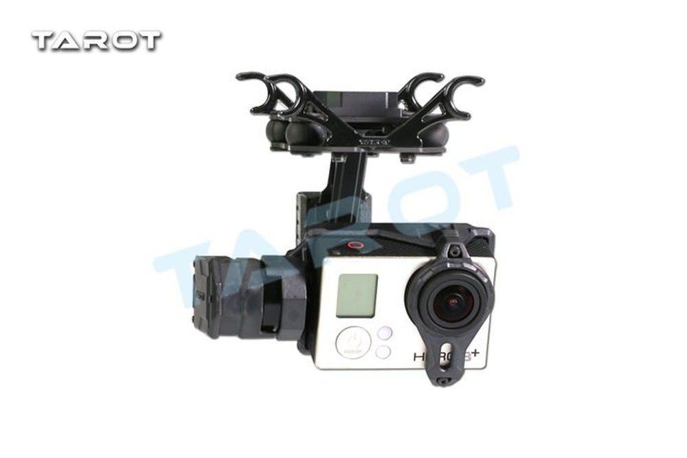 Tarot T2-2D Brushless 2 Achsen GoPro Gimbal für GoPro 3 und 4 TL2D01