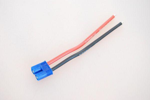 1x EC3 Stecker fertig verlötet mit 10cm Kabel