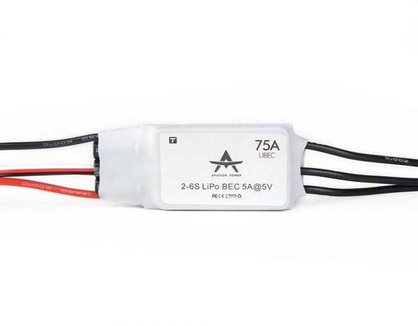 T-Motor AT 75A ESC - Fixed Wing Brushless Regler 75A 2S-6S 5V 5A UBEC
