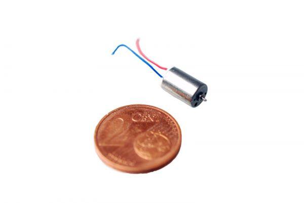 6mm Mikromotor 1-4V 33000 U/min Länge 9mm 1,1g Micro Motor