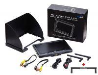"Black Pearl 7"" 5,8Ghz Diversity Monitor mit Akku, Netzteil F-Band + Griffantenne"