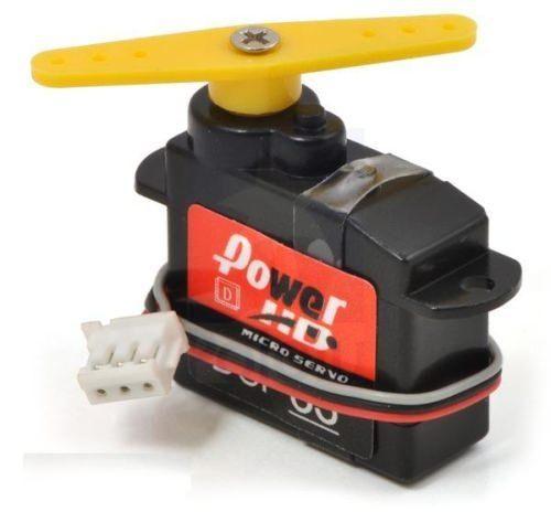 PowerHD HD-DSP33 Micro Digital Servo 2,9g 0.35kg 0,07sec 4,8V-6V Kugellager