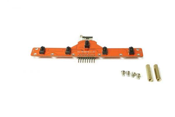 Feetech 5CH IR Linien Detektor Sensor Schwarz / Weiß f. Feetech Mobile Plattform
