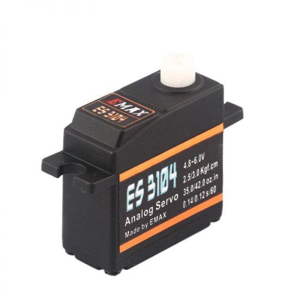 Emax ES3104 Mini Metallgetriebe Servo 17g 3.0kg 0,12sec 4,8V-6V BB