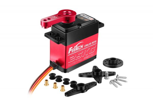 Feetech FI7622 Digital Metall Servo 67g 25kg 0,11sec 6V-8,4V Robotik 180°