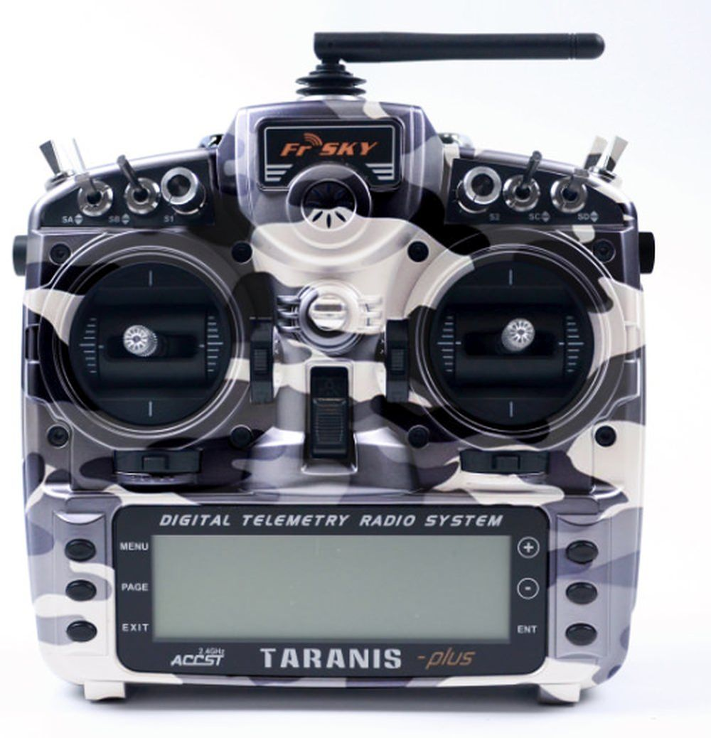 FrSky Taranis X9D Plus Special Edition Camouflage M9 Gimbals 2,4 GHz