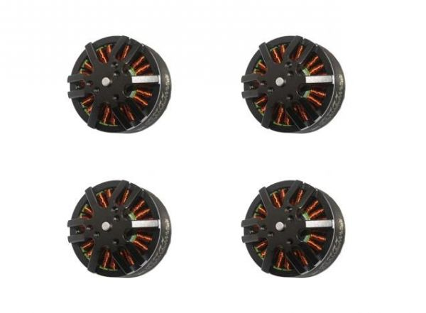 4x Emax MT4114 Brushless Motor 340kv 6S 22,2V 141g 15x5.5 Quadcopter Set