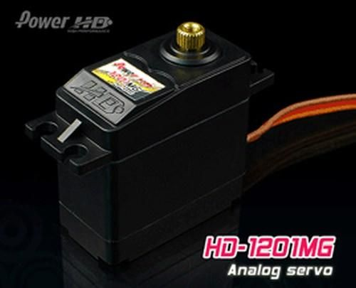 PowerHD HD-1201MG Metallgetriebe Servo 56g 13.2kg 0,14sec 4,8V-6V BB