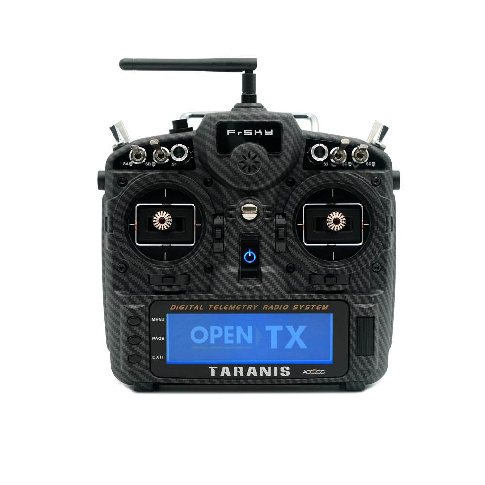 Frsky Taranis X9D Plus SE 2019 in Carbon Fiber