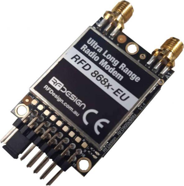 RFD868x-EU Modem 868Mhz Long Range Pixhawk Telemetrie