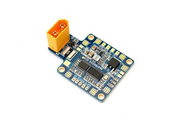 Matek PDB mit 5V BEC + 12V BEC XT60 Stromsensor und OSD - HUBOSD8-X