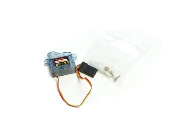 2,5g Micro Servo 0,7kg/cm 0,12sec für Indoor + Parkflyer