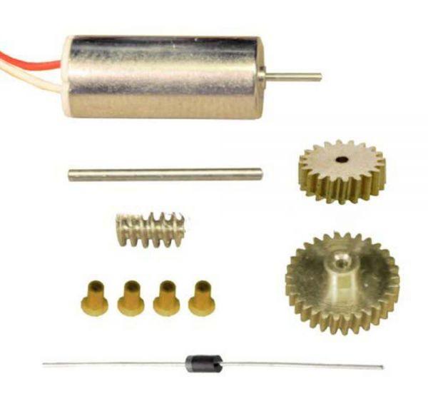 Universalantrieb für Mikromodelle 1:20 bzw. 1:30 Untersetzung