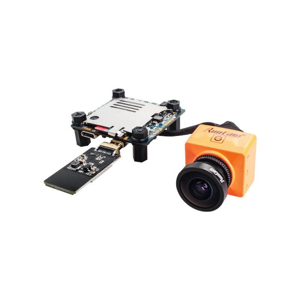 RunCam Split 2 HD und FPV Kamera FOV 165° mit WLAN in Orange