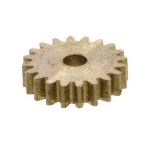 Zahnrad 20 Zähne Modul 0.2 1mm Bohrung Messing M0.2 Z201
