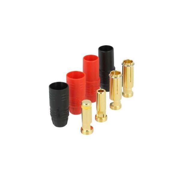7 mm Anti-Blitz Goldsteckersystem AS150 - 150A - 2er Set