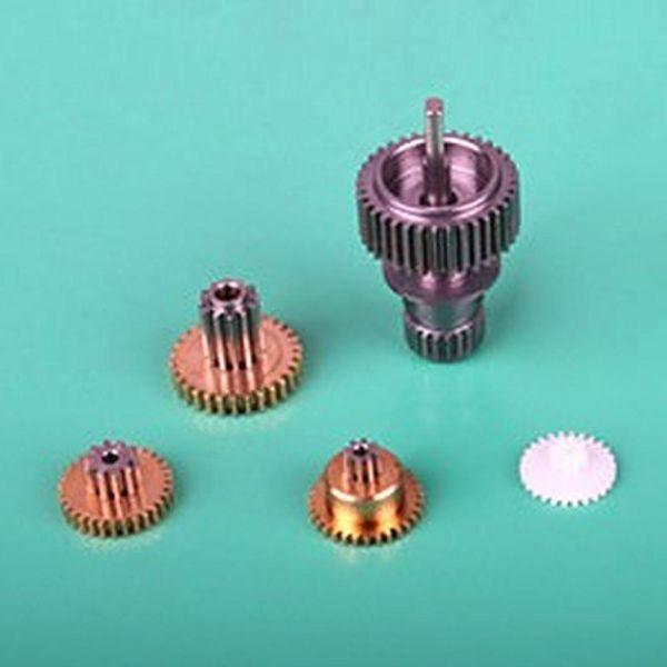 ES09 Ersatzgetriebe Metall für Emax ES09MD und ES09MA Micro Servo