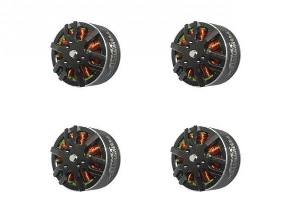 4x Emax MT3515 V2 Brushless Motor 650kv 4S-6S 14,8V-22,2V 131g Quadcopter Set