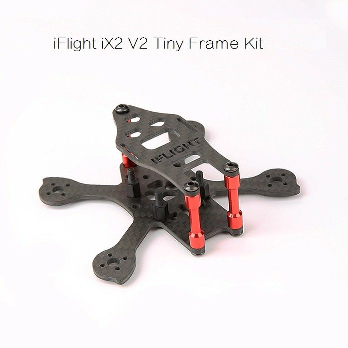 iFlight-RC Racer iX2 V2 Tiny 90mm Carbon Micro FPV Race Frame