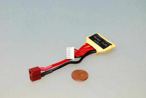 Ladekabel Dean - Adapter zur Ladung von 2x 2S LiPos in Serie